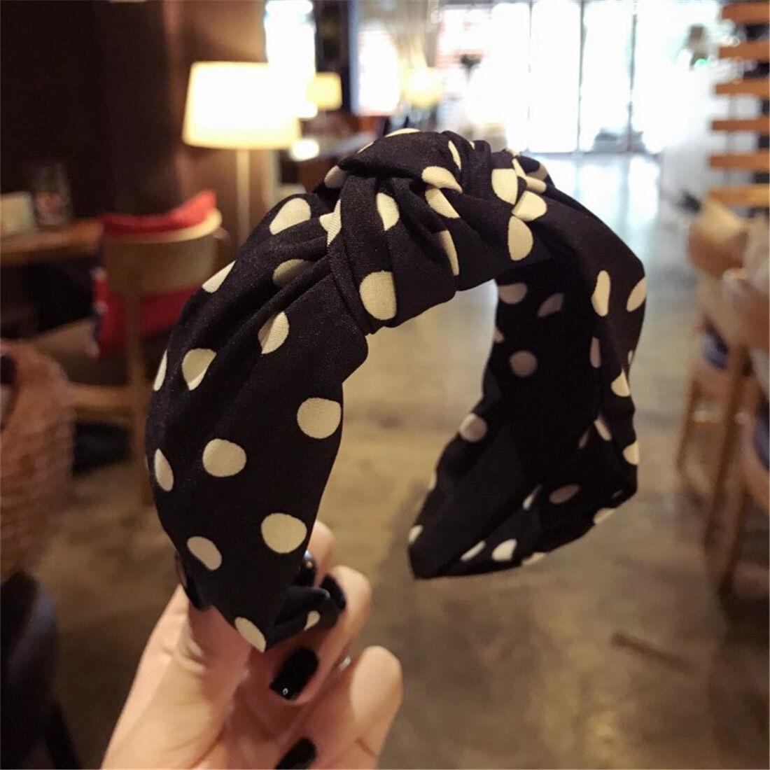 Fashion Women Turban Twist Knot Head Wrap Headband Twisted Knotted Hair Band
