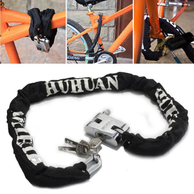 New  Heavy Duty Motorbike Motorcycle Bike Motor Bicycle Scooter Chain Pad Lock
