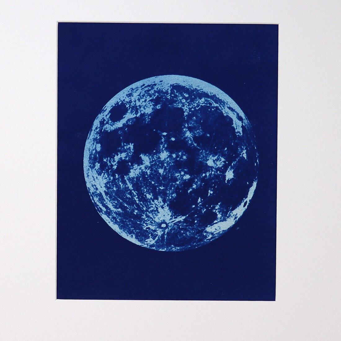 Harvest Moon Cyanotype - $79.00