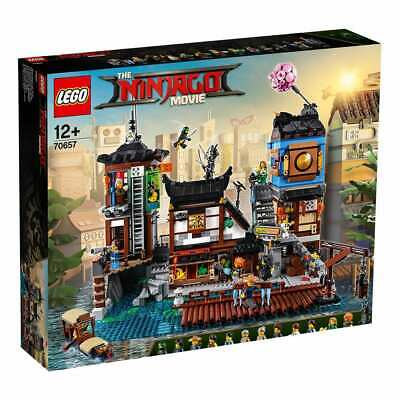 NEW  SEALED LEGO 70657 THE NINJAGO MOVIE CITY DOCKS WITH 13 MINIFIGURES 9/10