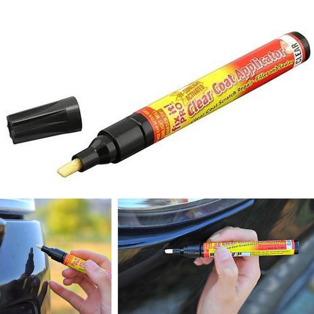 Fix It Pro Car Auto Scratch Repair Remover Pen Clear Coat Applicator B13U Good