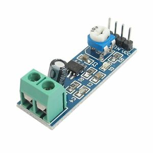 LM386 Audio Amplifier Module 5V-12V With Adjustable Volume