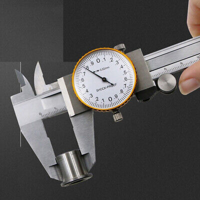 0-150mm Dial Caliper Shockproof Clear Scale Metric Standard Quality
