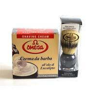 Pennello Setola Omega 11648 Crema Da Barba Eucalipto 46001 Omega - omega - ebay.it