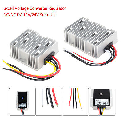 Voltage Reducer Converter Regulator Dc 12v24v Step-up To 48v 3a For Golf Cart