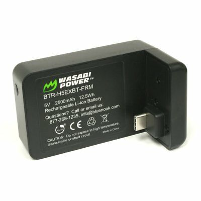 Wasabi Power Extended Battery for GoPro HERO5, HERO6 Black (2500mAh)