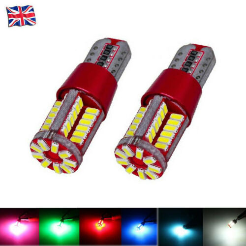 Car Parts - T10 W5W 501 LED CANBUS 57 SMD CREE BRIGHT CAR INTERIOR SIDE LIGHT BULBS