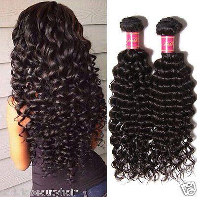Deep Wave Hair Weave - Nadula Malaysian Deep Wave Hair Bundles Weave 100% Virgin Human Hair Extensions