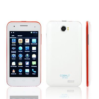 "Cobalt SP300 4.3"" Capacitive Touch Screen Android 4.0.3 Cell Phone on Rummage"
