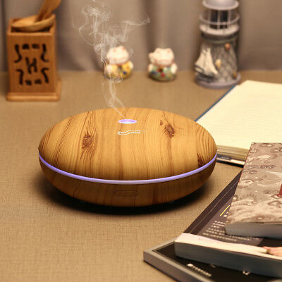 Ultrasonic Essential Oil Aroma Diffuser Humidifier Air Aromatherapy Purifier Hot