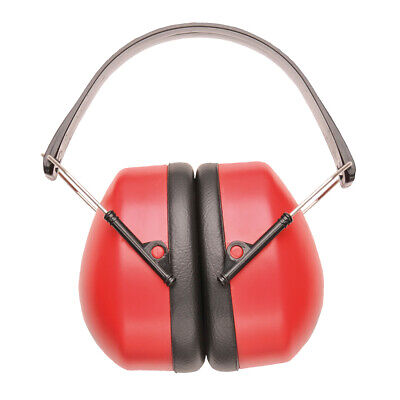 Portwest Pw41 Super Lightweight Compact Foldable Safety Ear Protector Muffs Ansi