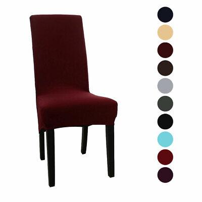 High Back Chair Slipcover Spandex Long Back Dining Chair Seat (High Back Chair Cover)