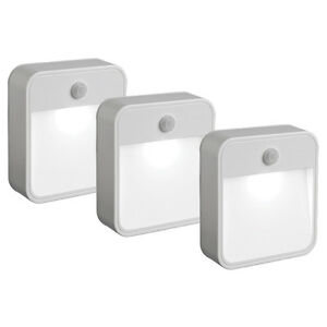 Mr-Beams-MB723-Stick-AnywhereLED-Nightlight-Motion-Sensing-Battery-Power-3-Pack