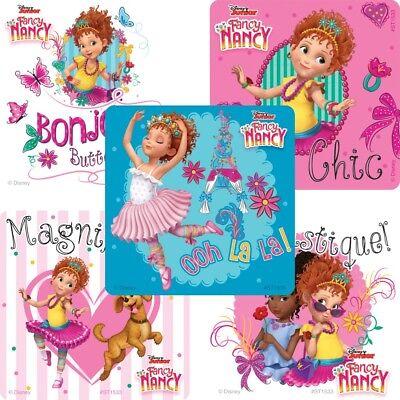 25 Fancy Nancy Stickers Party Favors Teacher Supply Birthday party favor Disney
