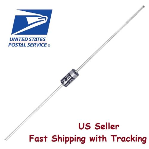 20 pcs 1N4007 Rectifier Diode 1A 1000V  IN4007 DO-41 - US Seller Fast Shipping