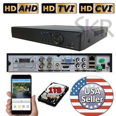 Sikker 4Ch Channel standalone Video Security DVR Camera