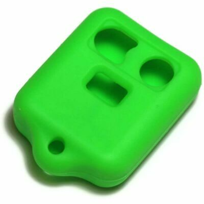 Green Silicone Key Fob Cover for Ford most models - 3 Buttons