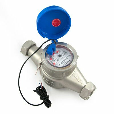 1 Water Meter - Stainless Steel Pulse Output