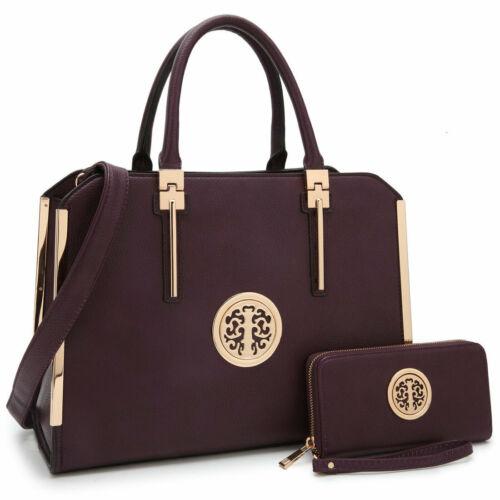 Women Handbags Top Handles Briefcase Tote Laptop Bag Work Pu