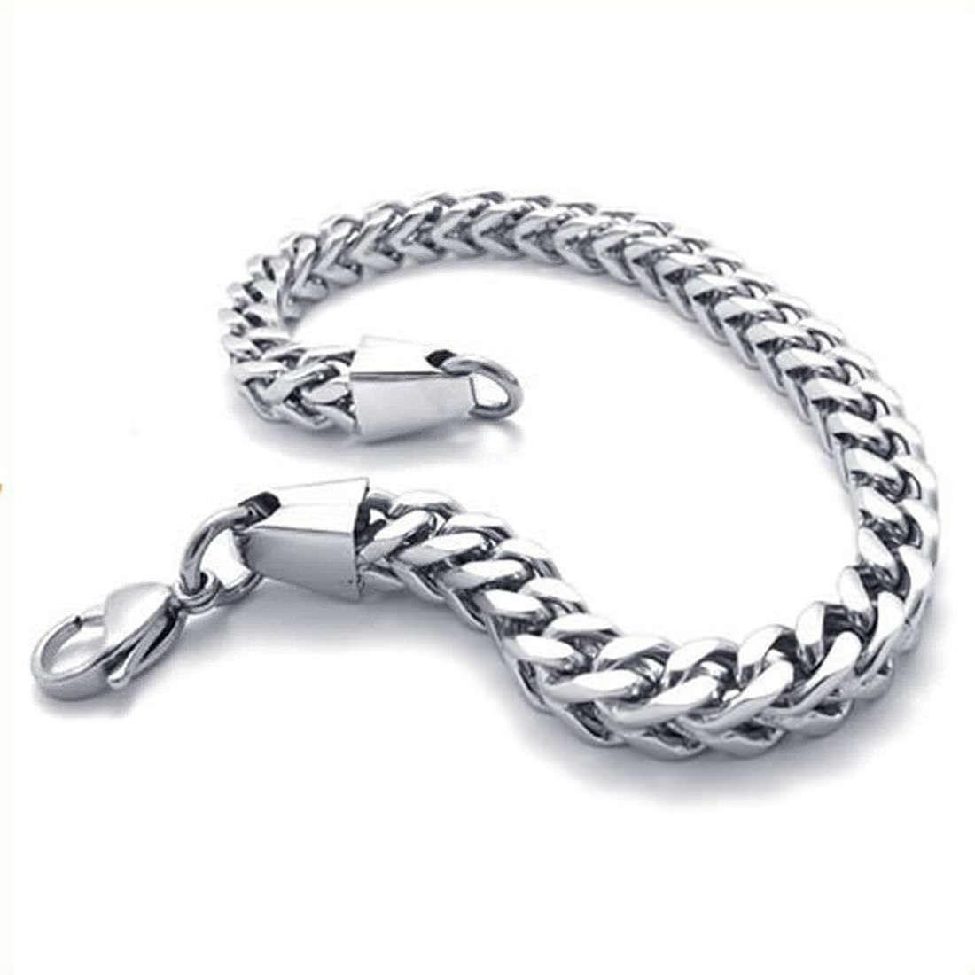 Armband aus grauem Baumwolle Kompass auf Kreuzknoten Edelstahl Armschmuck 21cm