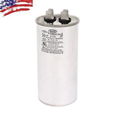 AC 450V 30uF 50/60Hz Air Conditioner Motor Run Capacitor CBB65A CBB65 for sale  USA