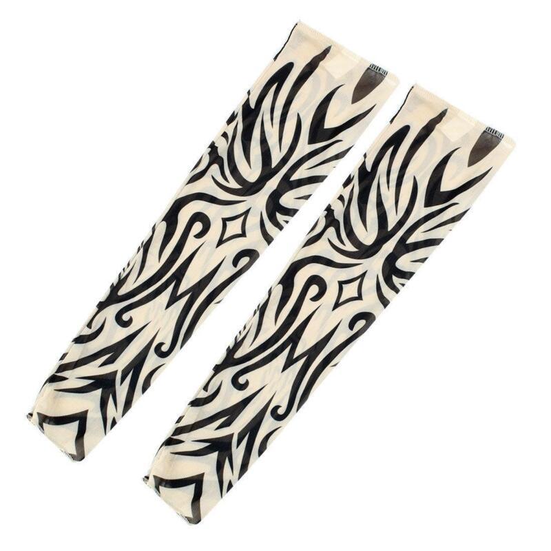Tribal tattoo sleeve ebay for Fake tribal tattoos
