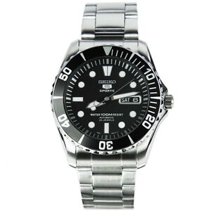 Seiko 5 SNZF17K AUTOMATIC DIVER watch SNZF17 23 Jewels 100m Sports NEW UK SELLER