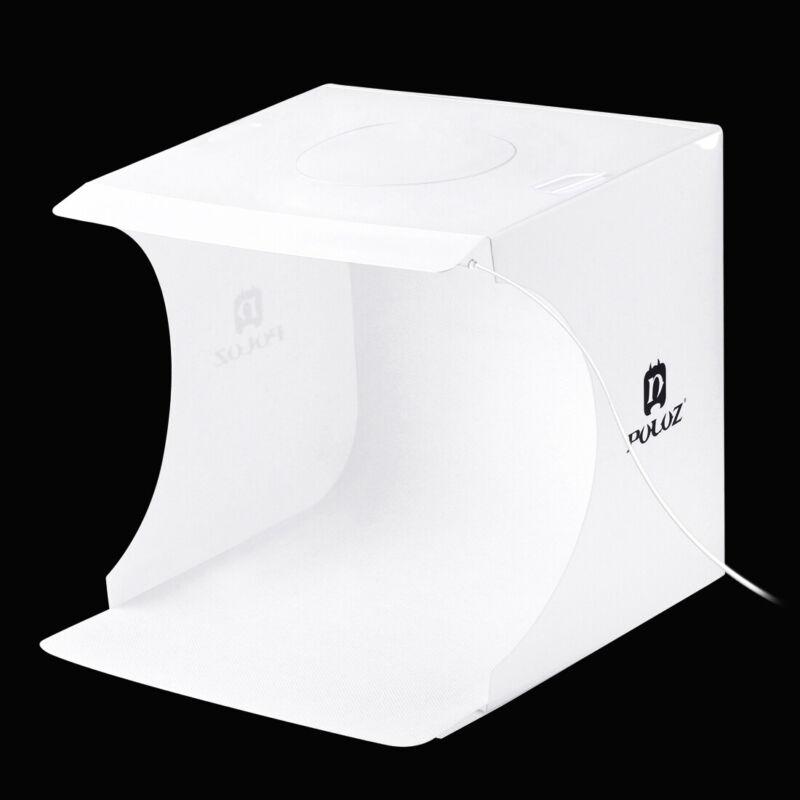 20cm+Folding+Lightbox+Photography+LED+Light+Studio+Box+with+6+Colour+Backdrops