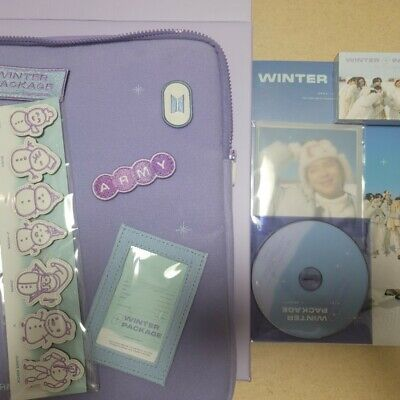 BTS Official 2021 Winter Package Without Photo card and Film
