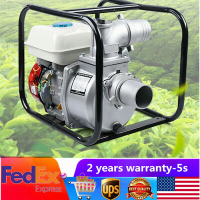60m3h Portable Gas Powered Water Pump With 210cc Ohv Engine 198gpm Trash Pumps