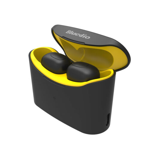 Bluedio T-elf Air pod Bluetooth 5.0 Sports Wireless Earphones with charging box