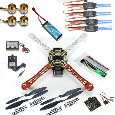 DIY RC Quadcopter 4 axle Drone ARF Kit KK V2.3 for Beau id?al Lovers Beginner