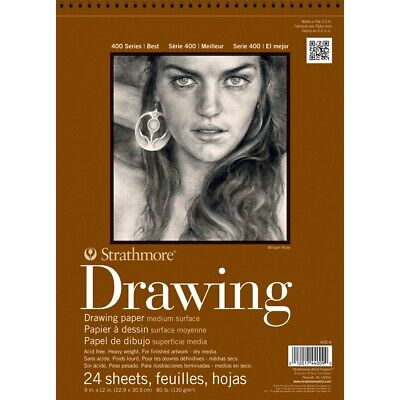 Series Drawing Paper (Strathmore 400 Series Drawing Paper Pads - 9x12
