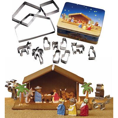 Birkmann Ausstechformen Krippe Krippenspiel Backen Weihnachten Keksausstecher Weihnachten Krippe