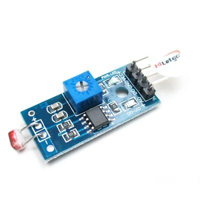 2pcs Digital Light Intensity Photosensitive Sensor Module Photo Resistor Arduino