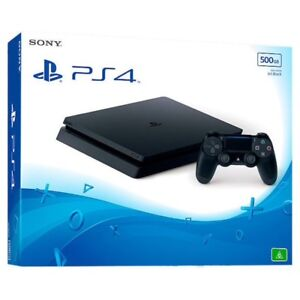 PS4 slim 500GB with a PSN account online- many games on it- MINT