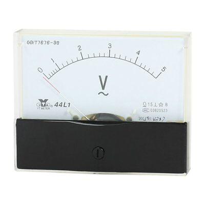 Analog Panel Voltmeter Volt Meter Ac 0 - 5v Measuring Range 44l1