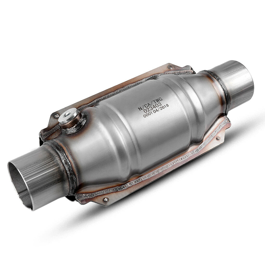 "2pcs Universal Three-way High-Flow EPA Catalytic Converter Standard 2.25/"" Cat"