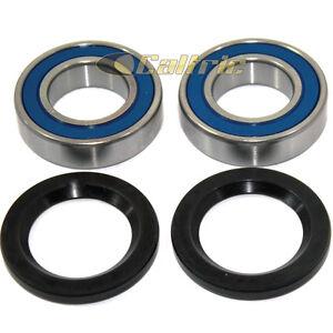 Front Wheel Ball Bearing and Seals Kit Fits KAWASAKI ZX-6R NINJA ZX636 2003-2006