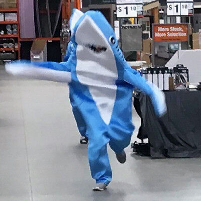 Animal Whale Shark Mascot Costume Material Fancy Cosplay Adult Jumpsuit Outfit - Cosplay Materials