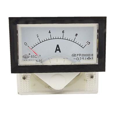 Instrument 85c17 Dc 0-10a Amp Analog Panel Meter Ammeter