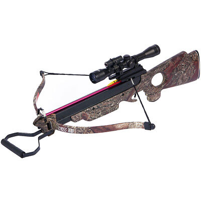 150 lb camouflage hunting crossbow archery bow