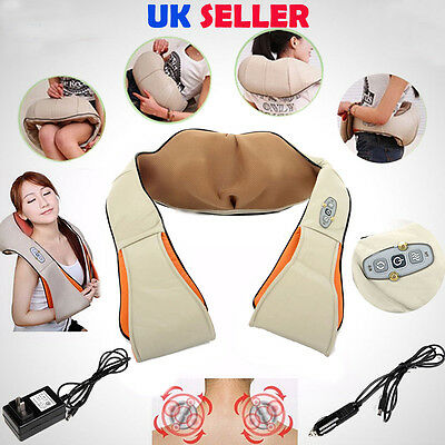 Health Care Pillow Kneading Neck Shoulder Back Waist Belly Foot Massager Relax