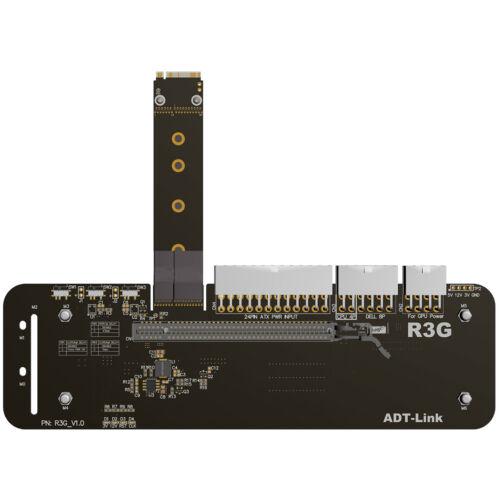 M.2-Taste M NVMe-Halterung für externe Grafikkarten mit PCIe3.0 x4-Riserkabel