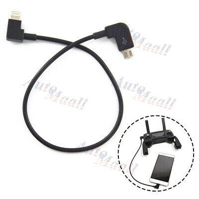 Remote Controller Data Transfer Cable fr DJI MAVIC PRO AIR Spark IOS iPhone iPad