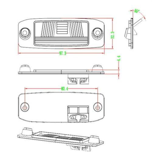Car Backup Reverse Rear View Camera For Chrysler 300/300c