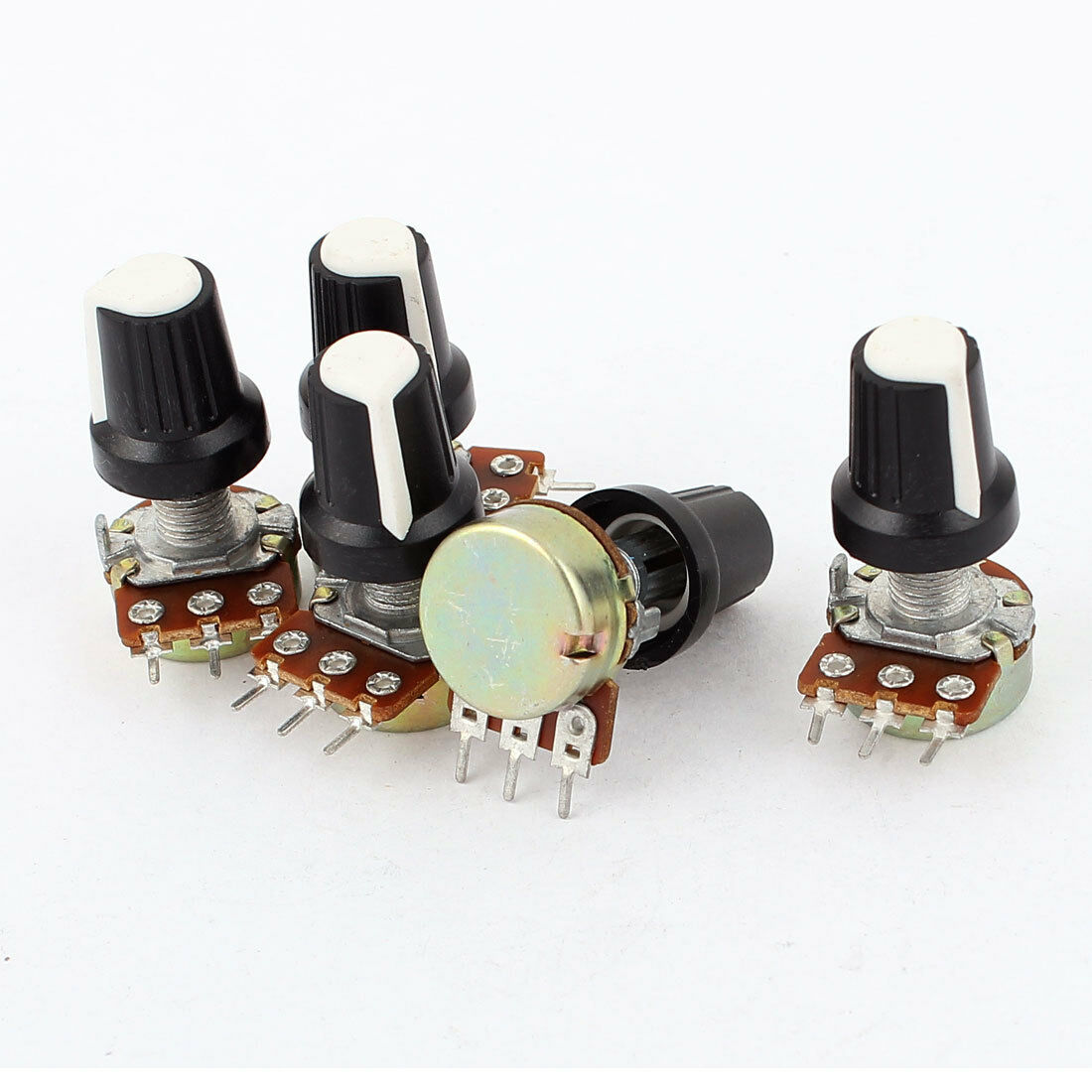 50W 10 Ohm Ceramic Potentiometer Variable Taper Pot Resistor Rheostat