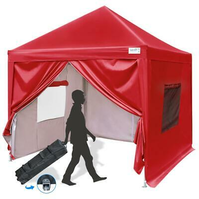 Upgraded Quictent 8x8 ft Easy Pop Up Canopy Tent Party Tent