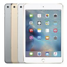 "Apple iPad Mini 4 32GB iOS WiFi 4G LTE ""Factory Unlocked"" 4th Generation Tablet"