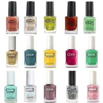 Color Club Nail Lacquer. Full Size Bottle.
